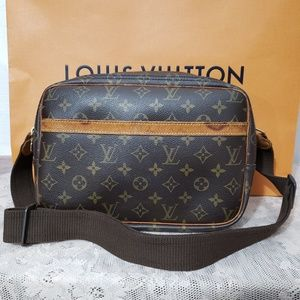 Authentic LV Reporter Monogram PM